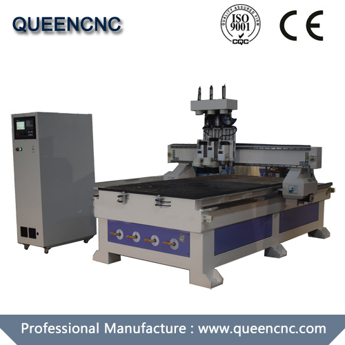 QN1325 Three Spindle Switch Cnc Router