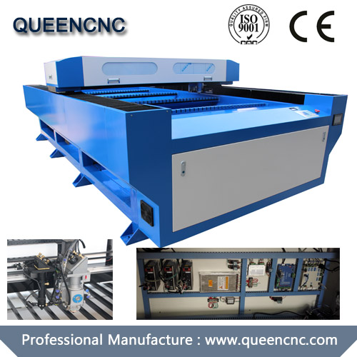 QN1325M Mixed Co2 Laser Cutting Machine For Nonmetal And Thin Metal