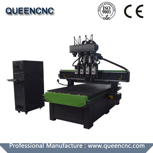 QN1325 Four Spindle Switch Cnc Router